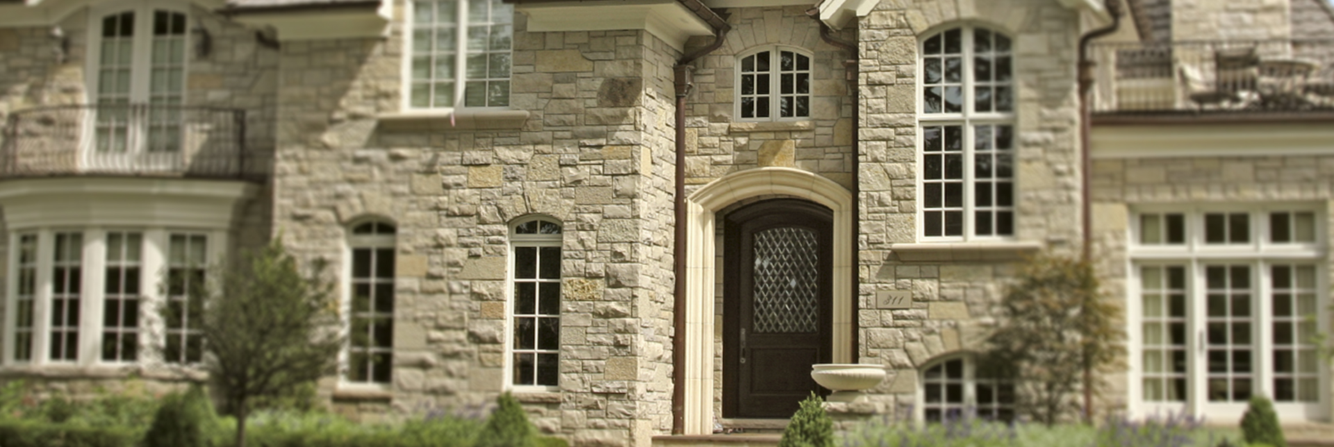 Stone Veneer Richmond Hill & Brampton