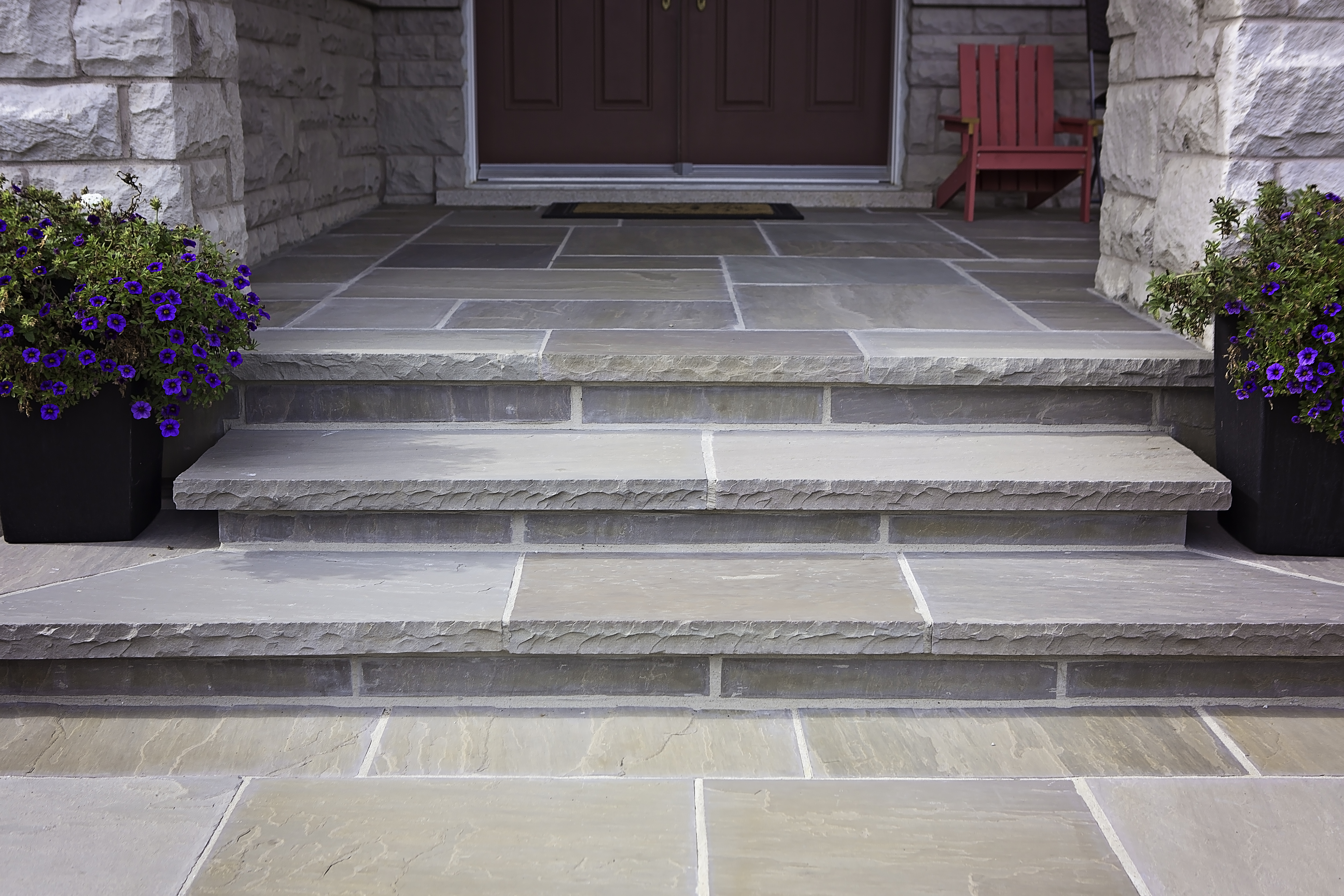 Exterior House Stone Vaughan